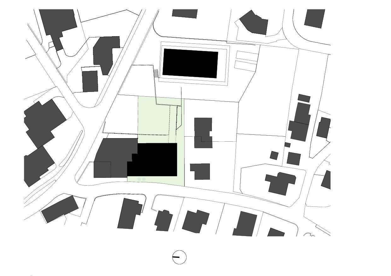Situation Wohnhaus mit Atelier de lilitt bollinger studio gmbH