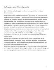 descriptif du projet Haus auf sechs Pfeilern de Bearth & Deplazes Architekten AG<br>Valentin Bearth – Andrea Deplazes – Daniel Ladner