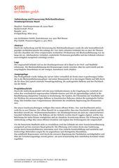 Projektbeschrieb und Dokumentation Aufstockung und Erneuerung Mehrfamilienhaus Homburgerstrasse, Basel von sim Architekten GmbH