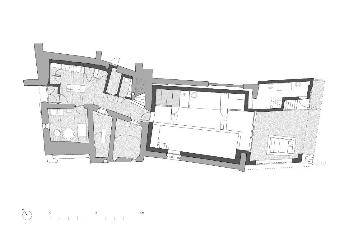 Sous-sol Von der Ruine zum Nullenergiebilanzhaus de FELIX PARTNER Architektur und Design