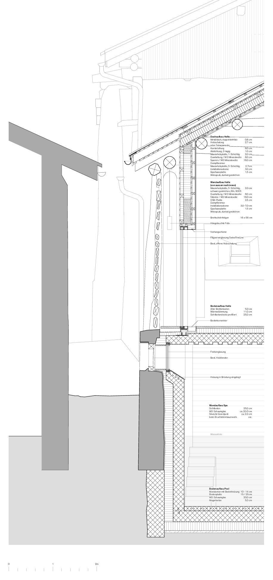 Détail Von der Ruine zum Nullenergiebilanzhaus de FELIX PARTNER Architektur und Design