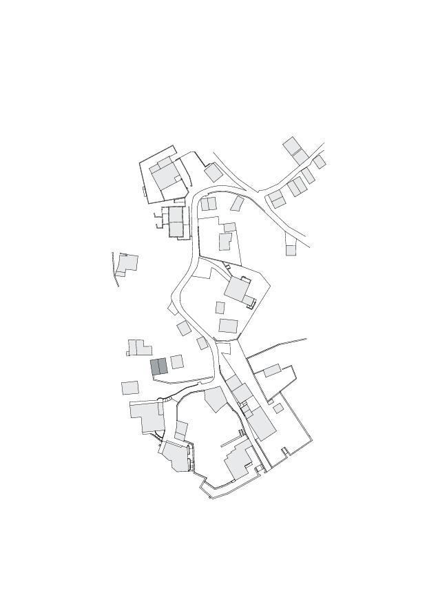 Situation Studio Cascina Garbald (scientist in residence) von Architetti SIA<br/>