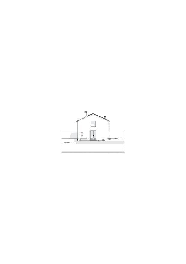 Fassadenansicht_Süd Studio Cascina Garbald (scientist in residence) von Architetti SIA<br/>
