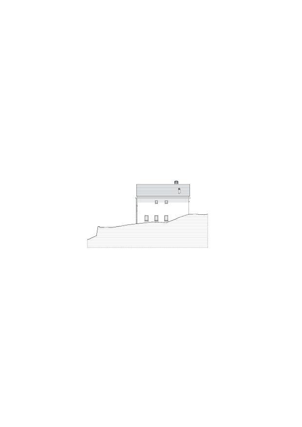 Fassadenansicht_Ost Studio Cascina Garbald (scientist in residence) von Architetti SIA<br/>