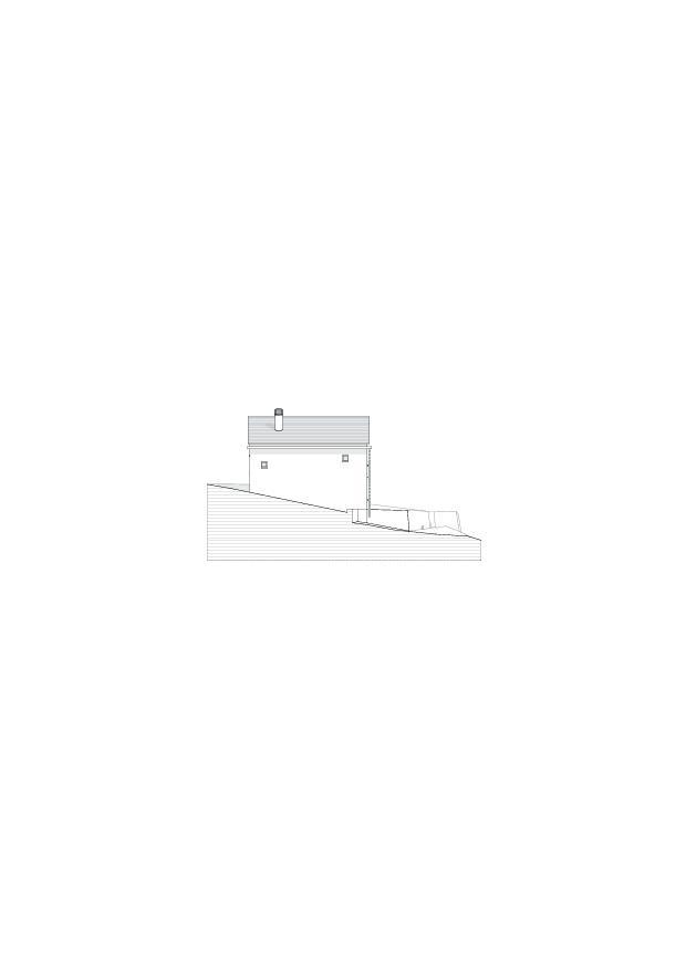 Fassadenansicht_West Studio Cascina Garbald (scientist in residence) von Architetti SIA<br/>