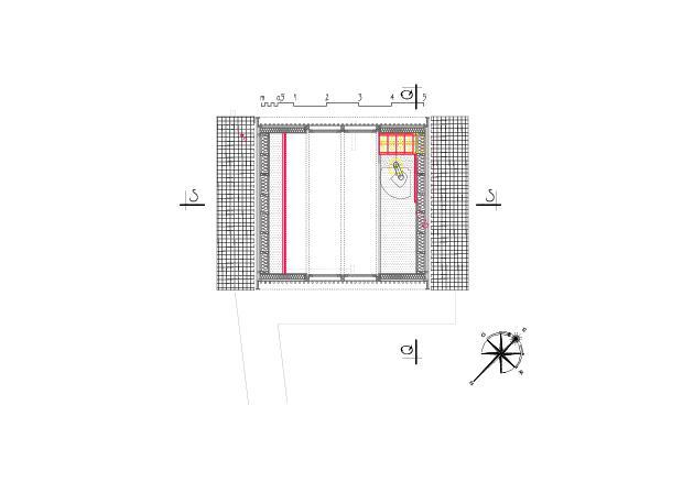 Plan du comble Ausbau Atelier Koller de Dipl. Architekt ETH/SIA<br/>