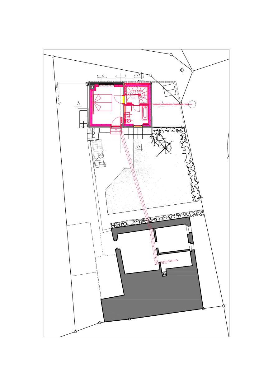 Situation Ausbau Atelier Koller de Dipl. Architekt ETH/SIA<br/>