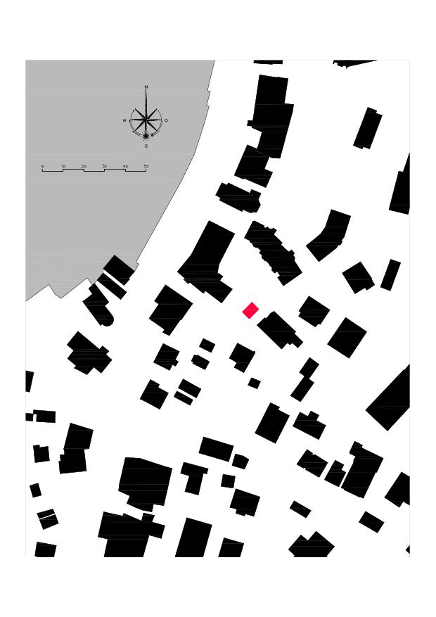 Plan de masse Ausbau Atelier Koller de Dipl. Architekt ETH/SIA<br/>