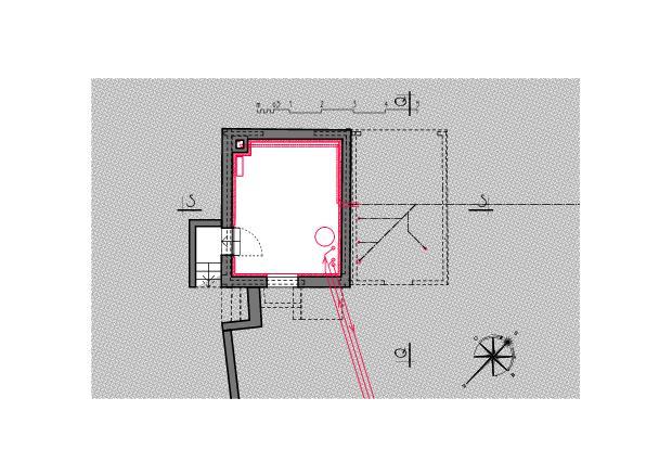 Plan du sous-sol Ausbau Atelier Koller de Dipl. Architekt ETH/SIA<br/>