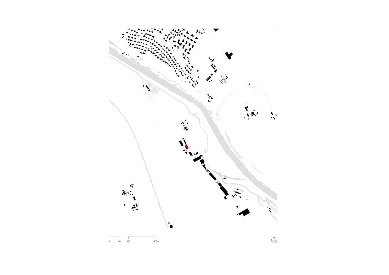 Schwarzplan Flugzeughangar Bern-Belp von Marazzi + Paul Architekten AG