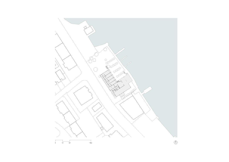 Situation Hotel Alex Lake Zürich von Marazzi + Paul Architekten AG