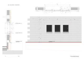 Détail - fenêtres cuisine Habitation pour une famille - Val d'Arolla de Galletti & Matter architectes