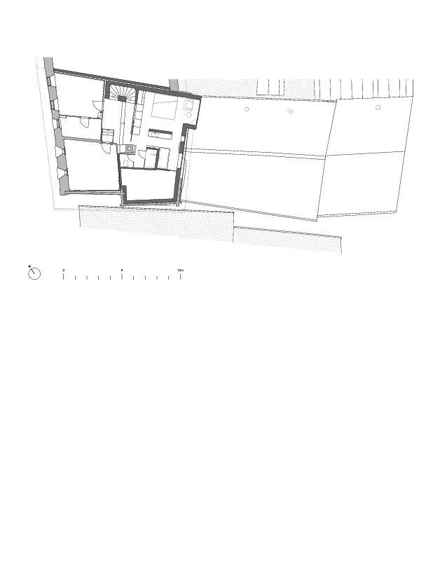 Etage 2 Von der Ruine zum Nullenergiebilanzhaus de FELIX PARTNER Architektur und Design