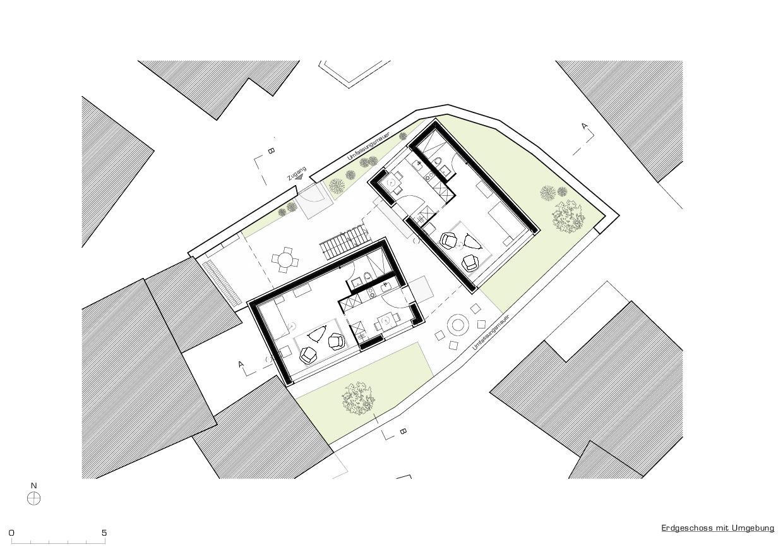 Rez-de-Chaussée Tiny Houses, Schwyz de marty architektur AG