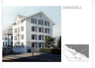 Pläne townhouse two, horgen von moos giuliani herrmann architekten ag