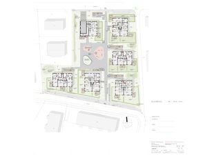 Situation / Umgebung gesamt Wohnsiedlung In den Gärten von Büchel Neubig Architekten