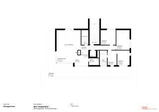 Dachgeschoss 2 MFH «HORIZONTE» von Marc Hess Architektur gmbh