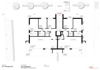 EG-2.OG 2 MFH «HORIZONTE» von Marc Hess Architektur gmbh