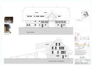 Ansicht Nord/Ost Süd/West Schlossgut von BEE Architekten AG