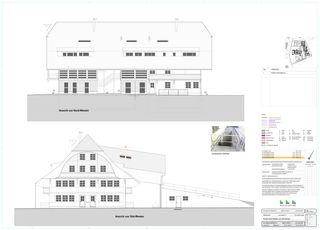 Ansicht NordWest Süd/West Schlossgut von BEE Architekten AG
