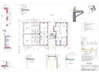 Grundriss Erdgeschoss Schlossgut von BEE Architekten AG