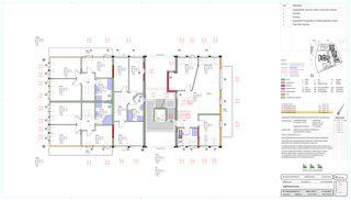 Grundriss Obergeschoss Schlossgut von BEE Architekten AG