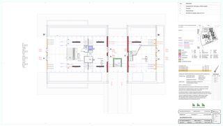 Grundriss Galeriegeschoss Schlossgut von BEE Architekten AG