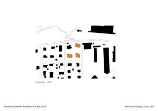 Documents de planification Wohnhäuser Rössligut de Schneider & Schneider Architekten ETH BSA SIA AG