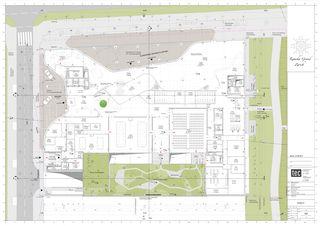 Situation et plan rez-de-chaussée Kameha Grand  de tec ARCHITECTURE Swiss AG