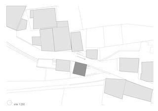 Situation Maison Boisset au Biolley von savioz fabrizzi architectes fas