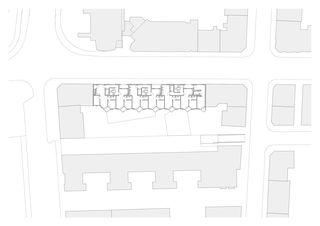 Obergeschoss Alterswohnen Feldstrasse Zürich von Patrik Linggi Architekten AG/Planergemeinschaft Durrer Linggi Architekten AG/Perolini Baumanagement