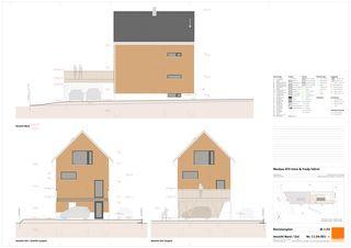 Vollständiger Satz Revisionspläne 1:50 Plus-Energie-Häuser Buechere Ermatingen von dransfeldarchitekten ag
