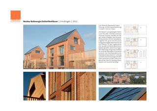 Kurze Projektdoku Plus-Energie-Häuser Buechere Ermatingen von dransfeldarchitekten ag