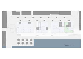 Erdgeschoss Magdeburger Hafen, HafenCity Hamburg von Architekten ETH SIA BSA<br/>