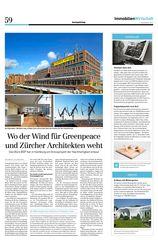 Publikation Sonntagszeitung Magdeburger Hafen, HafenCity Hamburg von Architekten ETH SIA BSA<br/>
