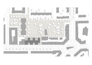 Situationsplan Badenerstrasse 380 von pool Architekten ETH SIA BSA