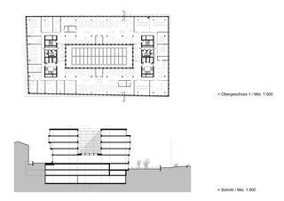 Pläne Carba Center 30 von Itten+Brechbühl AG