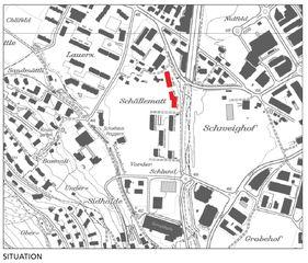 Situation Schellenmatt Nordost von MMJS Jauch-Stolz Architekten AG