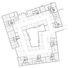 Untergeschoss Wohnüberbauung Siebenmättli Aarau-Rohr von Egli Rohr Partner AG Architekten BSA SIA
