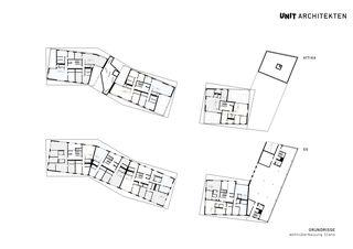 UNIT, Wohnüberbauung, Stans Wohnüberbauung Stans von UNIT Architekten