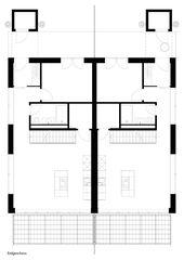 Eingangsgeschoss Doppeleinfamilienhäuser im Passivhausstandard von Swissrenova AG