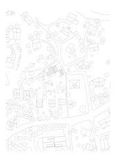 situation Villa Stine, Vevey de Rapin Saiz Architectes