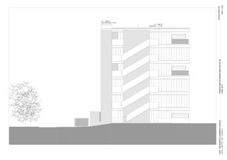 Nordost Les Lofts de Lancy von Francis Goetschmann architecte SA
