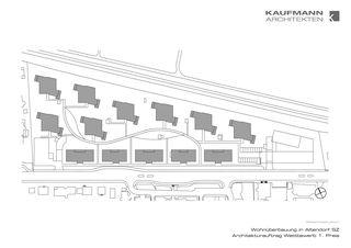 """Gesamtsituation. Wohnüberbauung """"Luferwis"""" in Altendorf SZ von Kaufmann Architekten AG"""