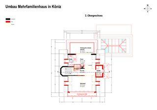 Deuxième étage Erweiterung und Renovation Wohnhaus in Köniz de Sunbilt (Schweiz) AG