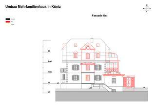 Façade est Erweiterung und Renovation Wohnhaus in Köniz de Sunbilt (Schweiz) AG