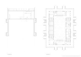 Untergeschoss & Erdgeschoss Mst. 1: 200 Architektur & Sport: Ein Eisstadion für Langenthal im Oberaargau (BE) von