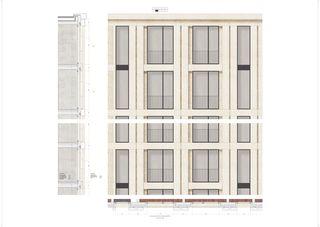 Fassadenschnitt Architektur & Raum von