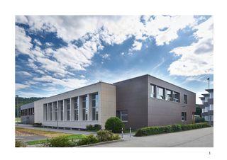 Projektbeschrieb Sport- und Mehrzweckhalle von j.+d.schatzmann ag, architekturbüro fh