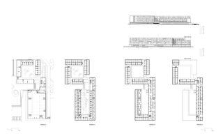 Grundrisse Wohnungen EPFL Student Housing von Richter Dahl Rocha & Associés architectes SA